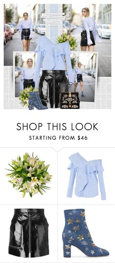 """""""Shimmy, Shimmy: Off-Shoulder Tops"""" by bklana ❤ liked on Polyvore featuring FAIR+true, Isabel Marant, Valentino, Dolce&Gabbana, Alexander McQueen, chiaraferragni, theblondesalad, bklana and showsomeshoulder"""