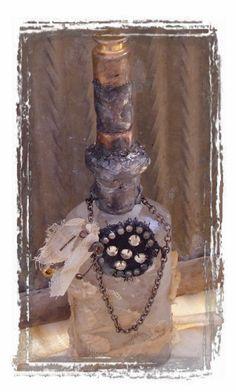 Bottle Art by Moss Hill