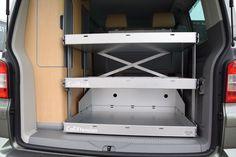 Heckauszug für den VW California Comfortline
