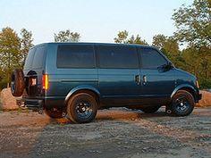 The astro van. More fun memories