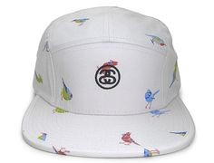 Birds 5-Panel Hat by STUSSY