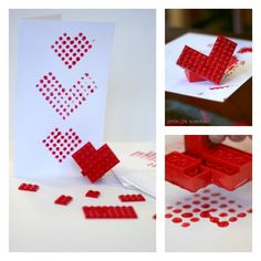 Valentine's Day fun with Lego Bricks!