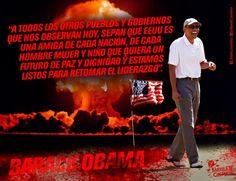 Barack Obama, Presidente de #EstadosUnidos. #Guerra #Terrorismo  //  #Frases #Citas