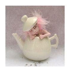 Sleeping Pink Teal Leaf Fairy  Art Doll  http://cgi.ebay.com/ws/eBayISAPI.dll?ViewItem=160792123209