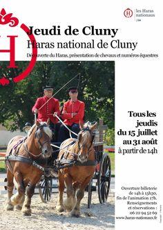 Les Jeudis de Cluny, édition 2015, au Haras National de Cluny.