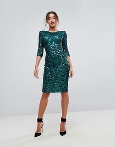 881aef875d04e3d ASOS | Покупайте модную одежду в интернет-магазине. Праздничные ПлатьяОблегающее  Платье