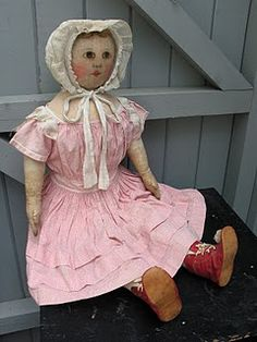 Emma Adams Columbian Doll - picture taken by Dixie Redmond at Lucy's Doll House