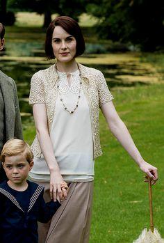 "jodockerys: "" Lady Mary & George Crawley, Downton Abbey's Christmas Special 2015 """