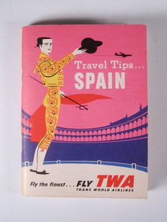 David KLEIN Travel Tips SPAIN Pan Am bklt 1960
