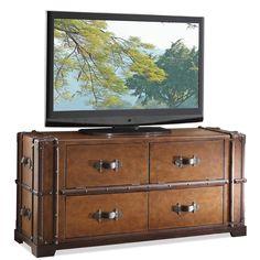 Amazon.com: Steamer Trunk TV Console: Electronics