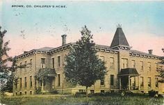 Georgetown Village Ohio Brown County Children's Home Victorian Orphanage 1908   eBay