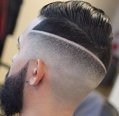 The drop fade haircut is a modern version of the popular classic fade. Just like the name implies, the drop fade haircut is cut low behind the ears, Slick Back Haircut, Drop Fade Haircut, Comb Over Haircut, Short Length Haircuts, Skin Fade Pompadour, High Skin Fade, Textured Haircut, Classic Haircut, Side Swept Hairstyles