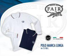 La Polo a manica lunga F.A.I.R.® la trovi solo online su F.A.I.R.-STORE®, acquistala subito qui http://www.fair-store.com Long Sleeved t-shirt polo FAIR® is only online at F.A.I.R.- STORE® , buy it now here http://www.fair-store.com
