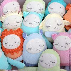 Сплюшки-Зверюшки в ассортименте! - разноцветный, сплюшка, сплюшки, обезьянка игрушка, львенок, игрушка, коровка, handmade toy