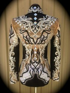 Beautiful western pleasure shirt.