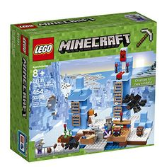 LEGO Minecraft The Ice Spikes 21131 Building Kit 454 Pieces * Click image to review more details.