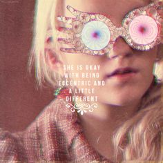 luna lovegood and harry potter image Luna Lovegood, Must Be A Weasley, Evanna Lynch, Nerd, Harry Potter Love, All Is Well, Mischief Managed, Cute Disney, Fantastic Beasts