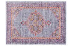 Xanthos Rug, Violet/Multi - Rugs Under $400 - Affordable Finds - Sale | One Kings Lane