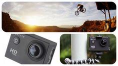 Örökítsd meg a pillanatot remek felbontásban , úgy hogy újra át tudd élni !!!!!!!! Forever SC-100 sport kamera! A felvett videót a készülék HD minőségben, széles látószögben tudja lejátszani a beépített 1,5 hüvelykes képernyőn. Robusztus kialakítás , intuitív menük és praktikus kialakítás, hogy megfeleljen minden felhasználó számára.  A kamera vízálló. http://www.skyphone.hu/forever-sc-100-sport-kamera