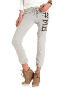 #me french terry sweatpant