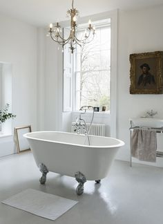 Add a touch of luxury to your bathroom - Classico ClearStone Bath from Clearwater Baths. http://www.clearwaterbaths.com/Products/ProductDetail?prodId=96014&name=Classico%20Grande