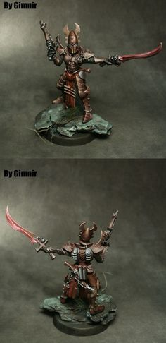 Dark eldar kabalite warrior.