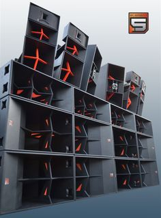 A spacy looking sound system Element 5