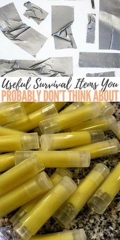 Useful Survival Items You Probably Don't Think About — Do you think you have all the kit you may need for an emergency? Read this and then have a good think what you could add to your kit. #prepping #preparedness #prepper #survival #shtf