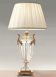 Crystal Table Lamps | Glass Table Lamps