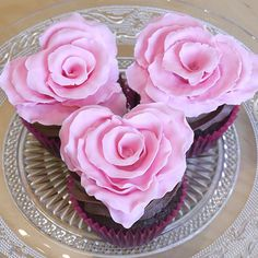 It's almost Valentine's Day and to celebrate,. I thought I would show you how to make a beautifully romantic ruffled rose with a subtle difference: it is in the shape of a heart! These pretty little decorations can be used as cupcake toppers, placed around the sides of an iced cake or supported by a…   [read more...]