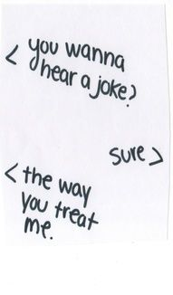 Your a joke