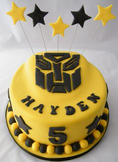 Hayden votes this cake for his birthday in November.