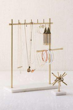 sawyer marble jewelry stand