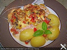 Fettarme Ofenschnitzel