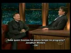 Robin Williams + Craig Ferguson = Legend