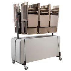 Folding Chair Storage Rack Garage Organizer Mb 23 Monkey