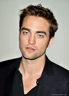 Robert Pattinson, Toronto photocall and press conference during promo of Cosmopolis in June 2012.
