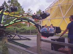 Miracle Strip Amusement Park 3 - Panama City Beach - 1990 by kocojim, via Flickr