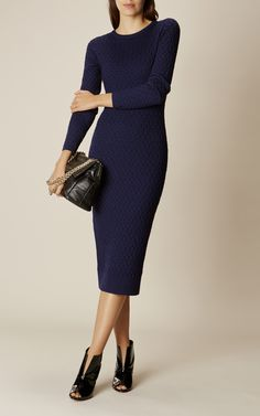 Karen Millen Cable Knit Dress