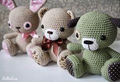 3 Cuties - Amigurumipatterns.net