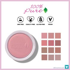 100% Pure – Fruit Pigmented Blush ($37)