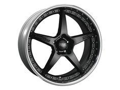 Black Rim OZ Racing
