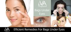 Efficient Remedies For Bags Under Eyes - Because day cream and makeup don't make  always miracles, I introduce you some natural methods to remove bags under...