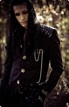 black long hair, pretty face, heart of gold...and we live in an ancient castle in a fairytale forest