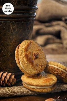 Carrot Cookies-Galletas de zanahoria Galletas Cookies, Cake Cookies, Pastry Recipes, Healthy Sweets, Dairy Free Recipes, Fondant Cakes, Sin Gluten, Afternoon Tea, Sweet Recipes