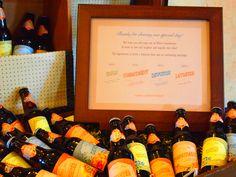 Home brewed Beers..great favor idea!