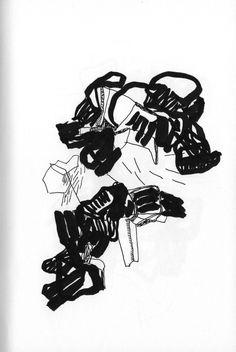 olivier umecker, drawings / paintings