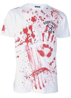 Bloody zombie shirt