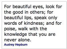 Always loved this quote......