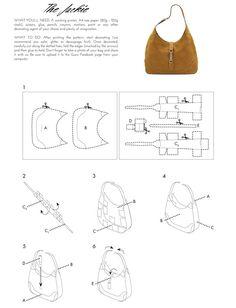 Gucci: Icons of Heritage Cut & Craft, #Craft #cut #Gucci #Heritage #Icons Bag Quilt, Sac Vanessa Bruno, Leather Bag Pattern, Diy Handbag, Craft Bags, Handmade Handbags, Bag Patterns To Sew, Leather Gifts, Denim Bag